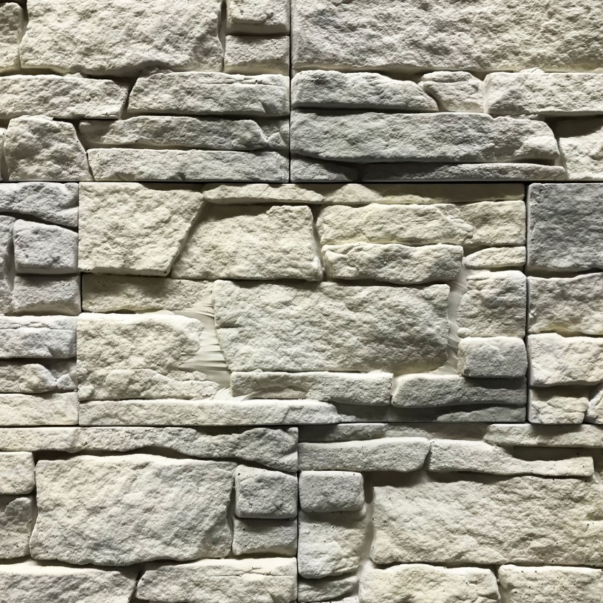 close up of stone veneer