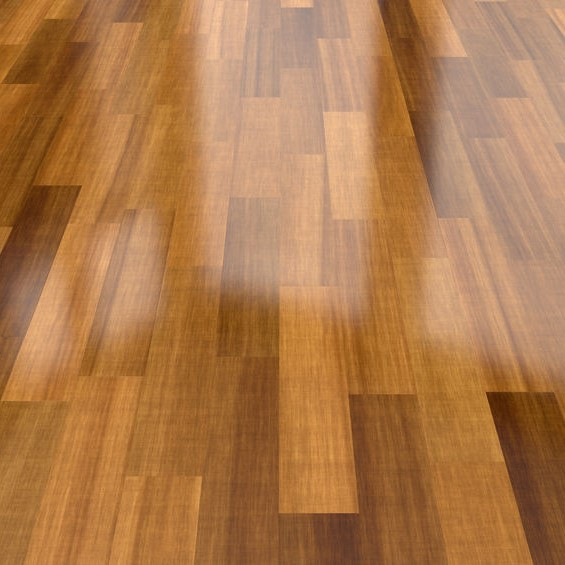 polished laminate floor