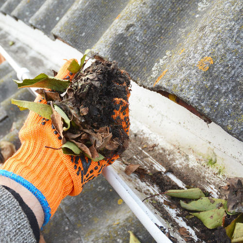 Amity Home Maintenance Offers Gutter Cleaning Services.