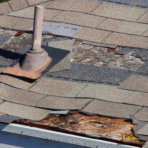 Roof Wind Damage, Roof Wind Damage Repair, Amity Home Maintenance Solutions