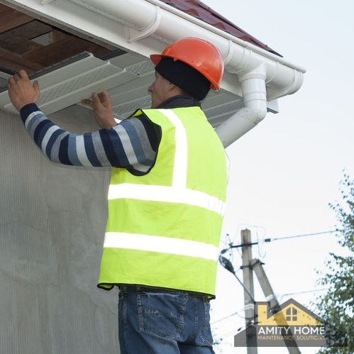 Soffit and Fascia Repair, Soffit and Fascia Installation, Amity Home Maintenance Solutions