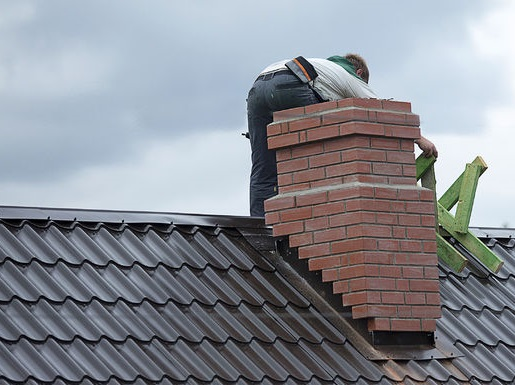 Working on Repairs and Chimney Maintenance