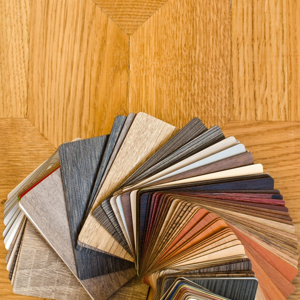 laminate floor chips and options